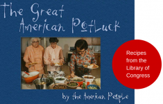recipes form Library of Congress by immigrants
