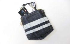 zipper coin purse with credit cards
