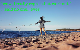 exercise meme about regret and fitness